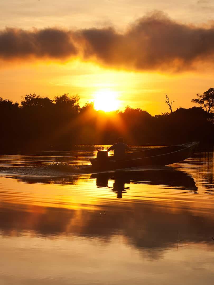 Navigation du Rio Amazone