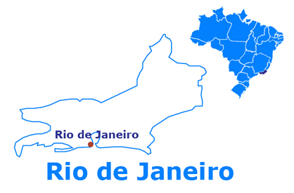 Mapa Rio de Janeiro